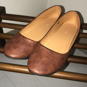 Shoes - Brown ballet flat